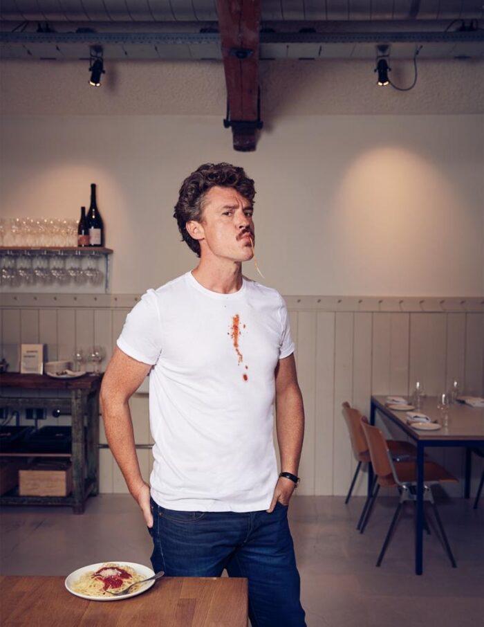 GILLES VAN DER LOO Schrijver, journalist en culinair recensent bij Het Parool